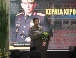 Kapolri : 12 Program Pendekar Banten Implementasi Mendukung Presisi Kapolri