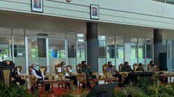 Panglima TNI & Kapolri Bersama Kepala BNBP Tinjau Penanganan Covid-19 di Kediri
