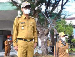 Pemkab Laksanakan Upacara Pengibaran Bendera, Bupati Nias Bertindak Sebagai Inspektur