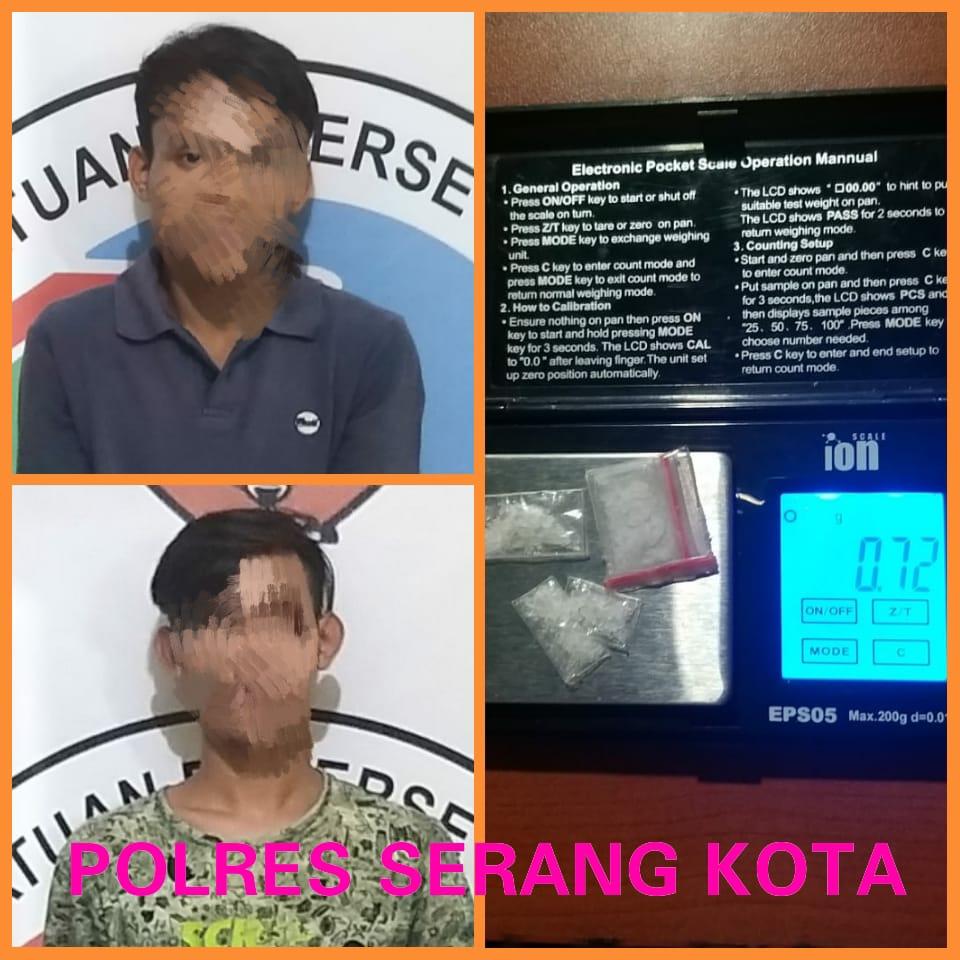 Polda Banten Ringkus Empat Orang Pelaku Narkoba