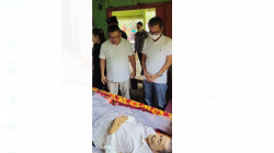 Bupati Nias Melayat atas Meninggalnya Orang Tua Jurnalis mertropublik.com