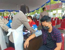 Sebanyak 2.749 Orang Telah di Vaksin Oleh Polda Banten