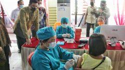 Wali Kota Medan Pastikan Pelaksanaan Pasar Murah & Vaksinasi Massal Berjalan Efektif