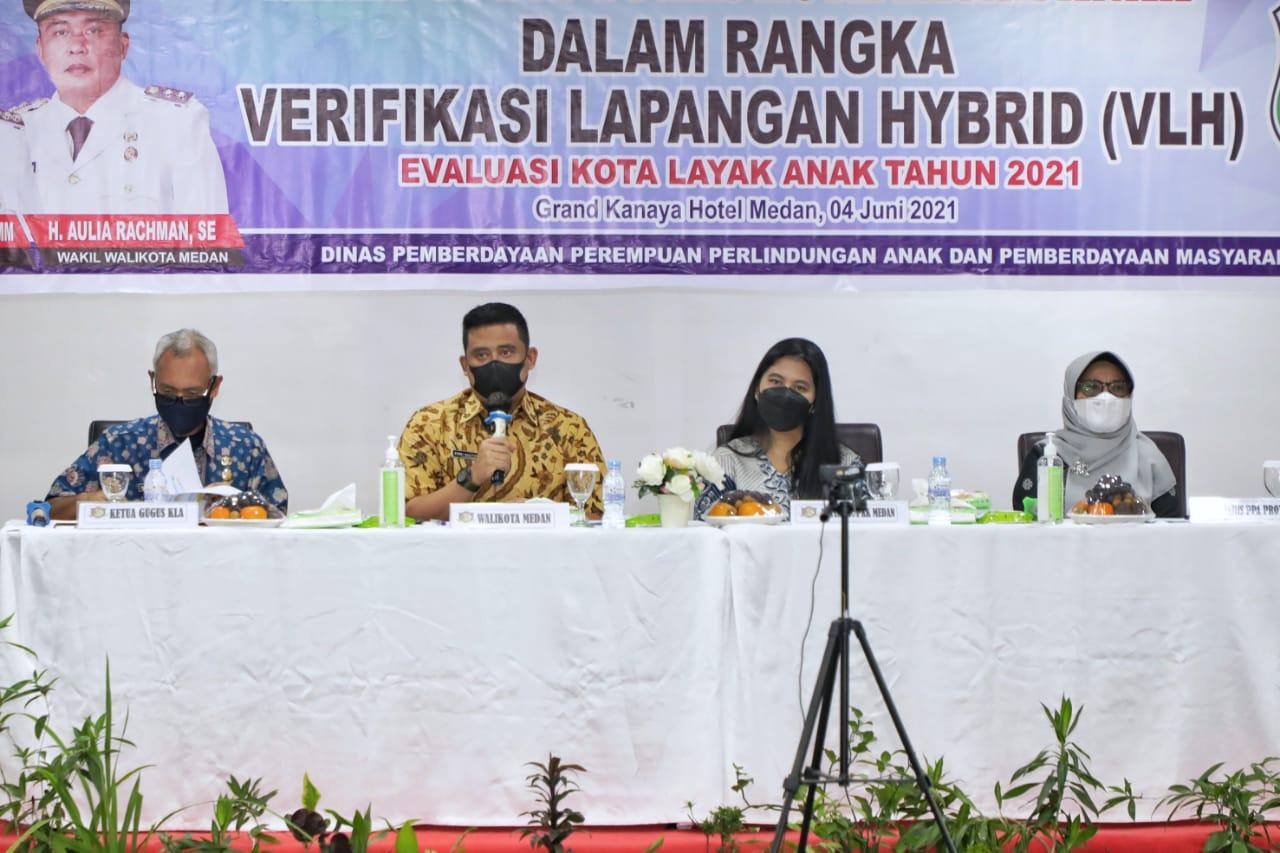 Wali Kota Medan Berharap Medan Dapat Menjadi Kota Layak Anak