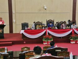 Paripurna DPRD Kota Medan Terkait Ranperda Pertanggung Jawaban Pelaksanaan APBD TA 2020