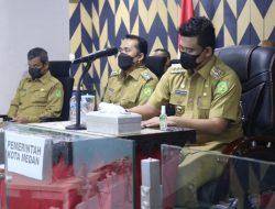 Bobby Nasution Ikuti Rakor Evaluasi PPKM Mikro