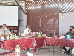 Bahas Covid-19, Bupati Nias dan Wakil Bupati Nias Hadiri Rapat Forkada