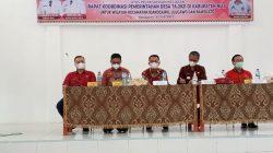 Bupati Nias Hadiri Rakor Pemdes Rayon Idanogawo, Bawalato & Ulugawo
