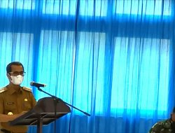 Bupati Nias Laksanakan Rapat Perdana Bersama Tim Satgas Covid-19