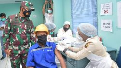 Pangdam I/BB Tinjau Pelaksanaan Vaksinasi di Kawasan Industri