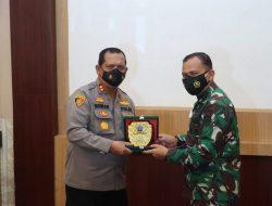 Kapolres Batubara Turut Sambut Kedatangan Danrem 022 Pantai Timur dalam Sinergitas TNI – POLRI