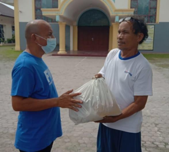 FWP Salurkan Bantuan Kabareskrim ke Mesjid dan Gereja di Kota Medan