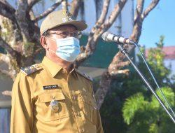 Pemkab Nias Laksanakan Upacara Pengibaran Bendera, Wakil Bupati Sebagai Inspektur