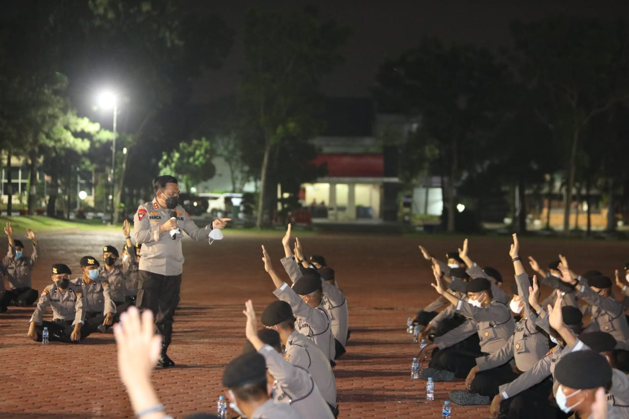Respon Cepat Tangani Covid-19, Kapoldasu Bentuk Tim Tracer Bintara Remaja