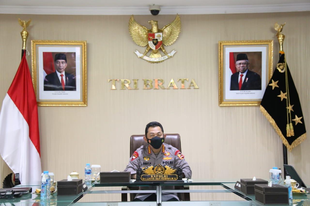 Sinergitas TNI-Polri Harga Mati Wujudkan Indonesia Maju