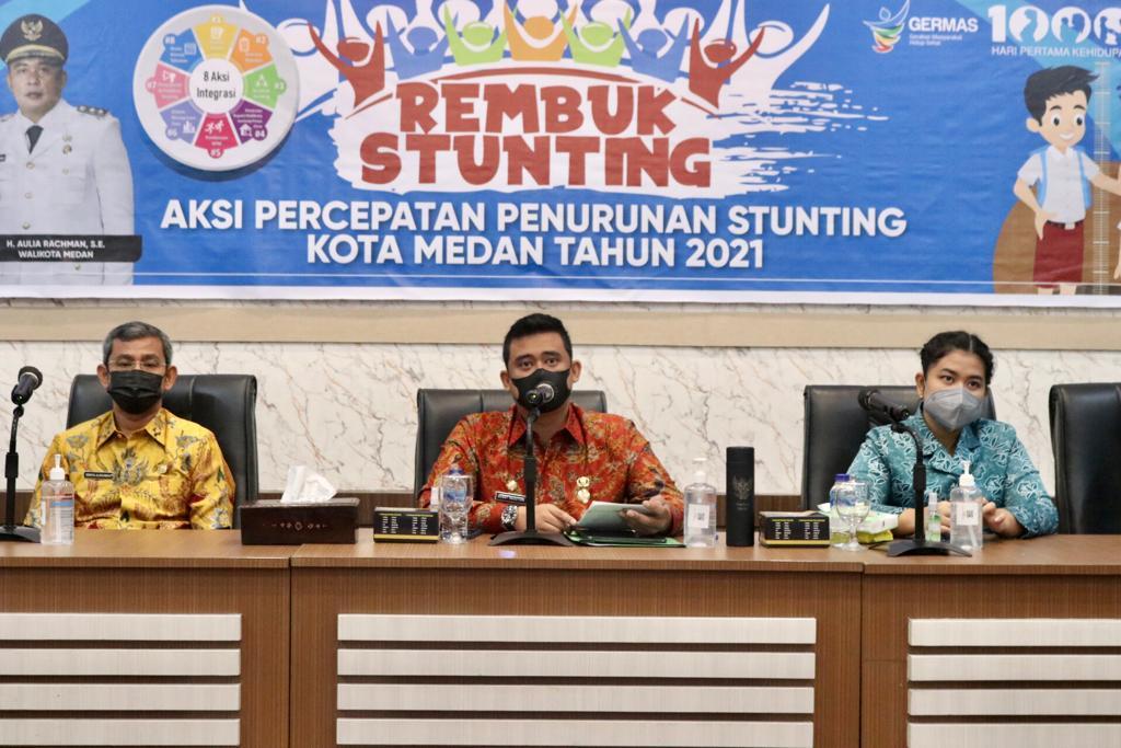 Bobby Nasution Berharap Rembuk Stunting Tidak Sekadar Rutinitas yang Sepele