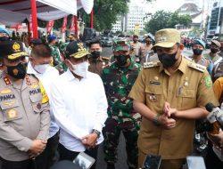 Pemko Medan Cek Pelaksanaan PPKM Darurat ke Sektor Esensial Secara Door to Door