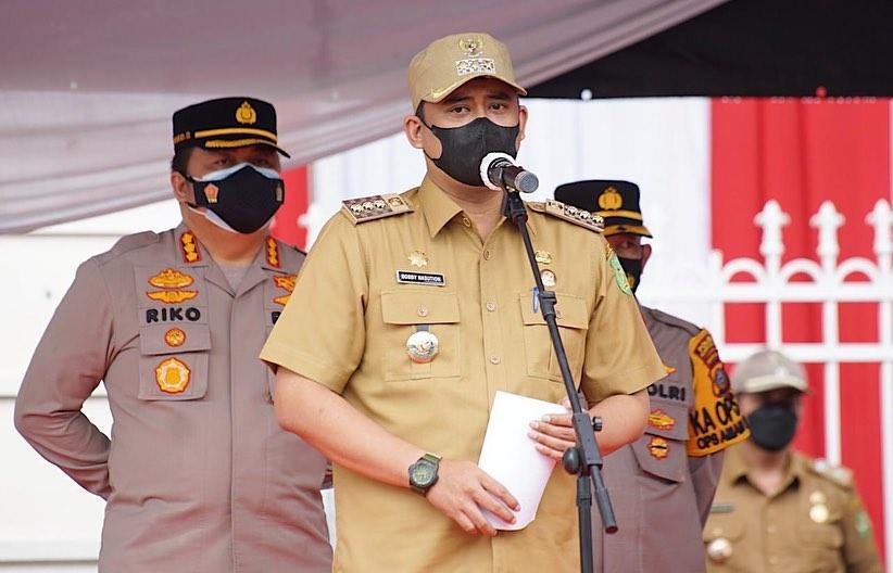 Bobby Nasution Pahami Kondisi & Masalah Dalam Pelaksanaan PPKM Darurat