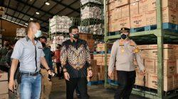 Bobby Nasution Pantau Mobilitas Warga dan Penerapan PPKM Darurat di Pabrik Ban