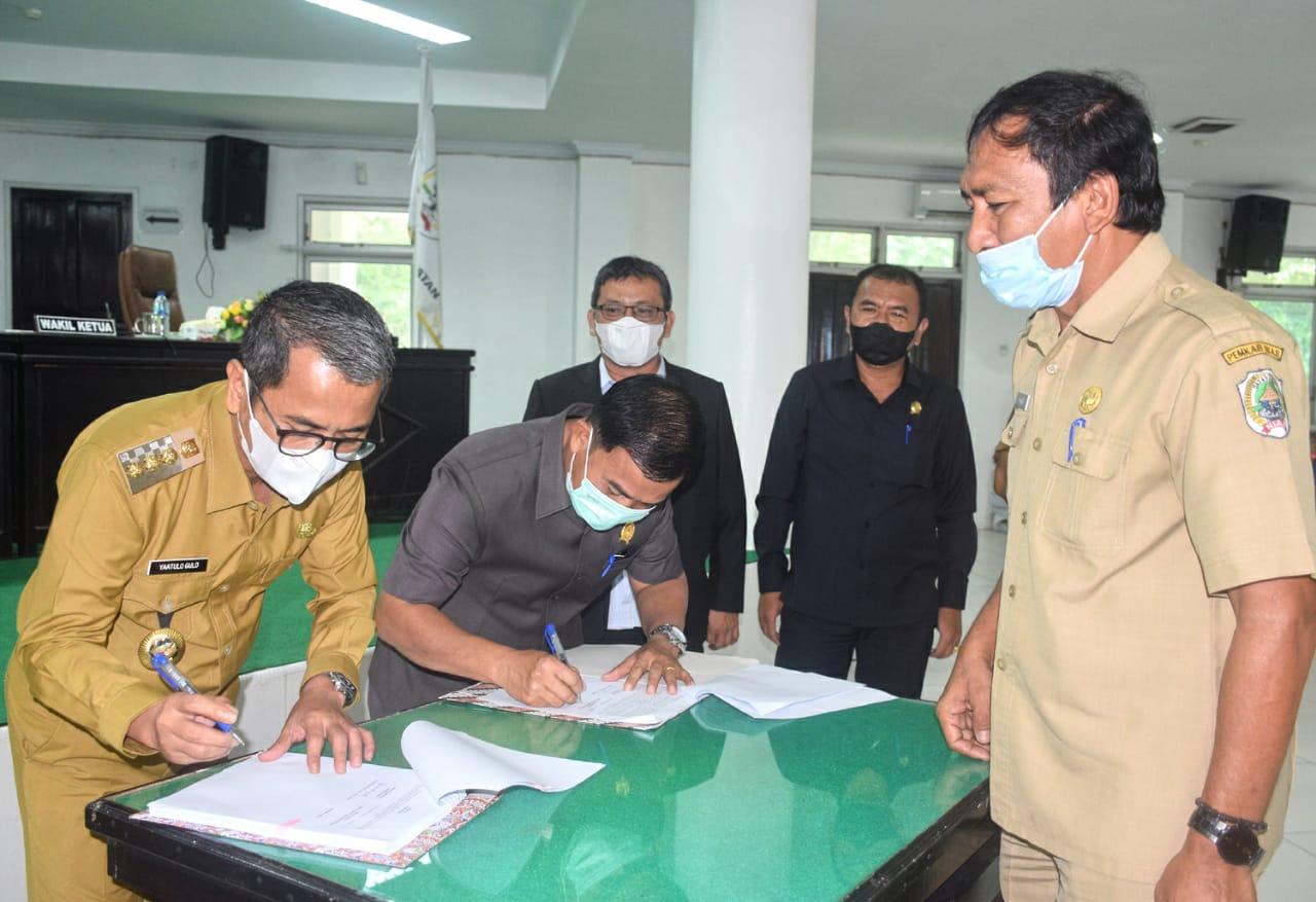 DPRD Kabupaten Nias Gelar Rapat Paripurna, Bupati Sampaikan Sambutan