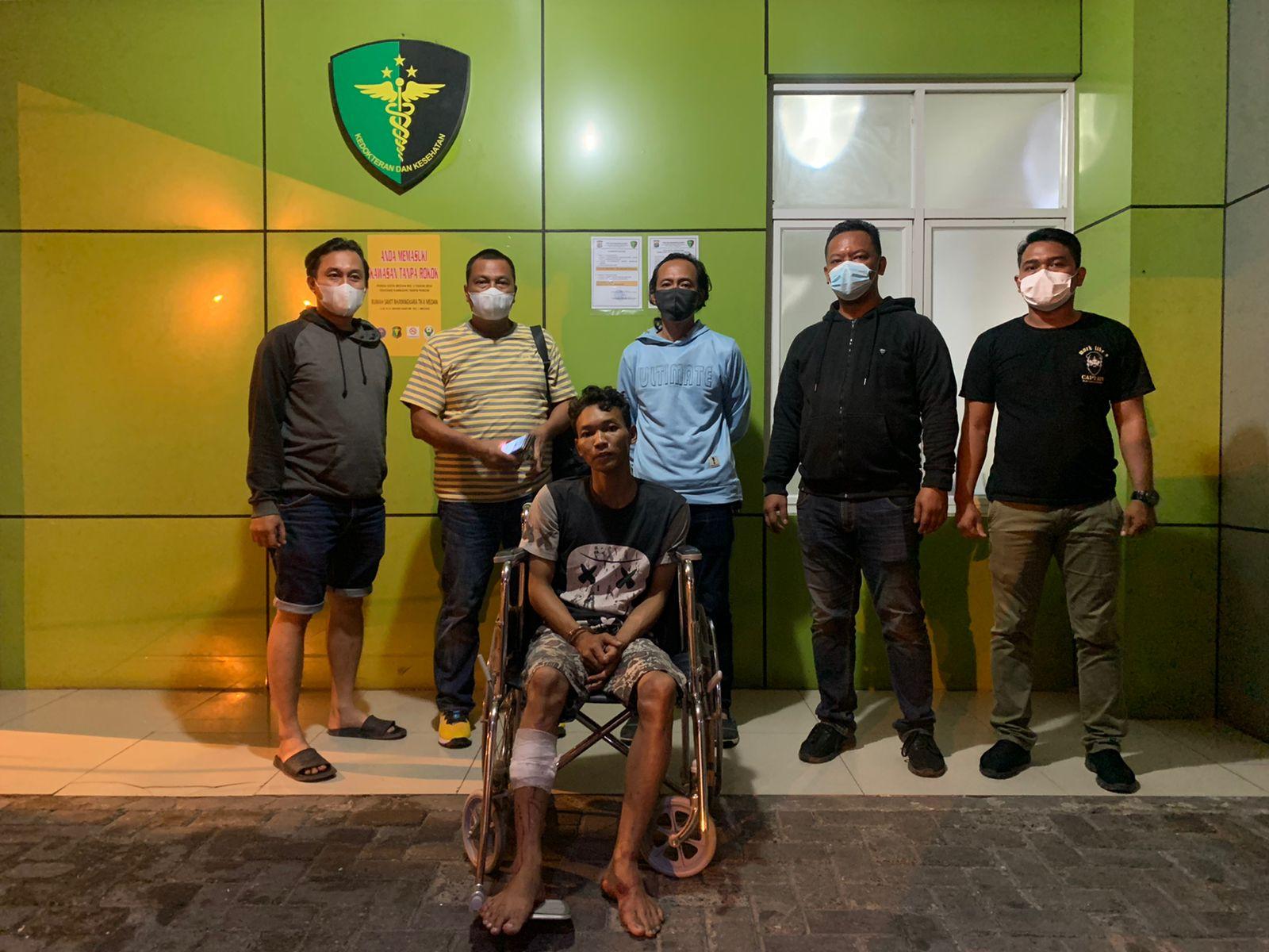 Polsek Sunggal Door Perampok Taksi Online