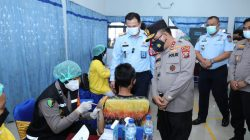 Kapolda Sumut Tinjau Vaksinasi 2.000 Warga Binaan
