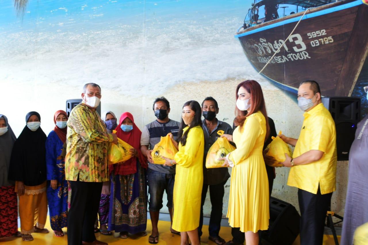Kunjungan Kerja ke Medan, Meutya Hafid Ikut Baksos Golkar