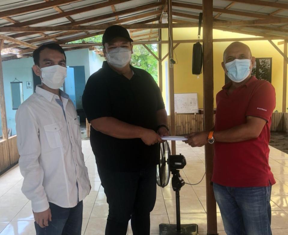 Anggota DPRD Medan Bantu Pembangunan Pondok Mengaji Martuani Berkarya