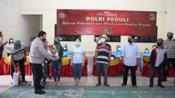 Polresta Tangerang Kawal Vaksinasi dan Baksos Alumni Akpol 91