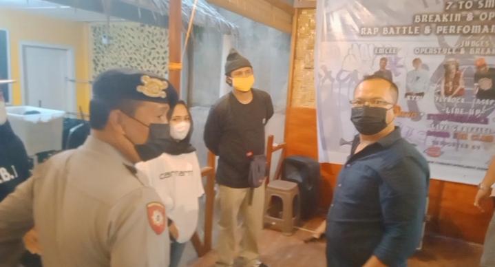 Polsek Medan Baru Bubarkan Acara Perlombaan Breakdance di Jalan Sendok