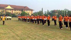 SDM Polda Banten Gelar Uji Kesamaptaan Jasmani Bagi Personel Yang Naik Pangkat