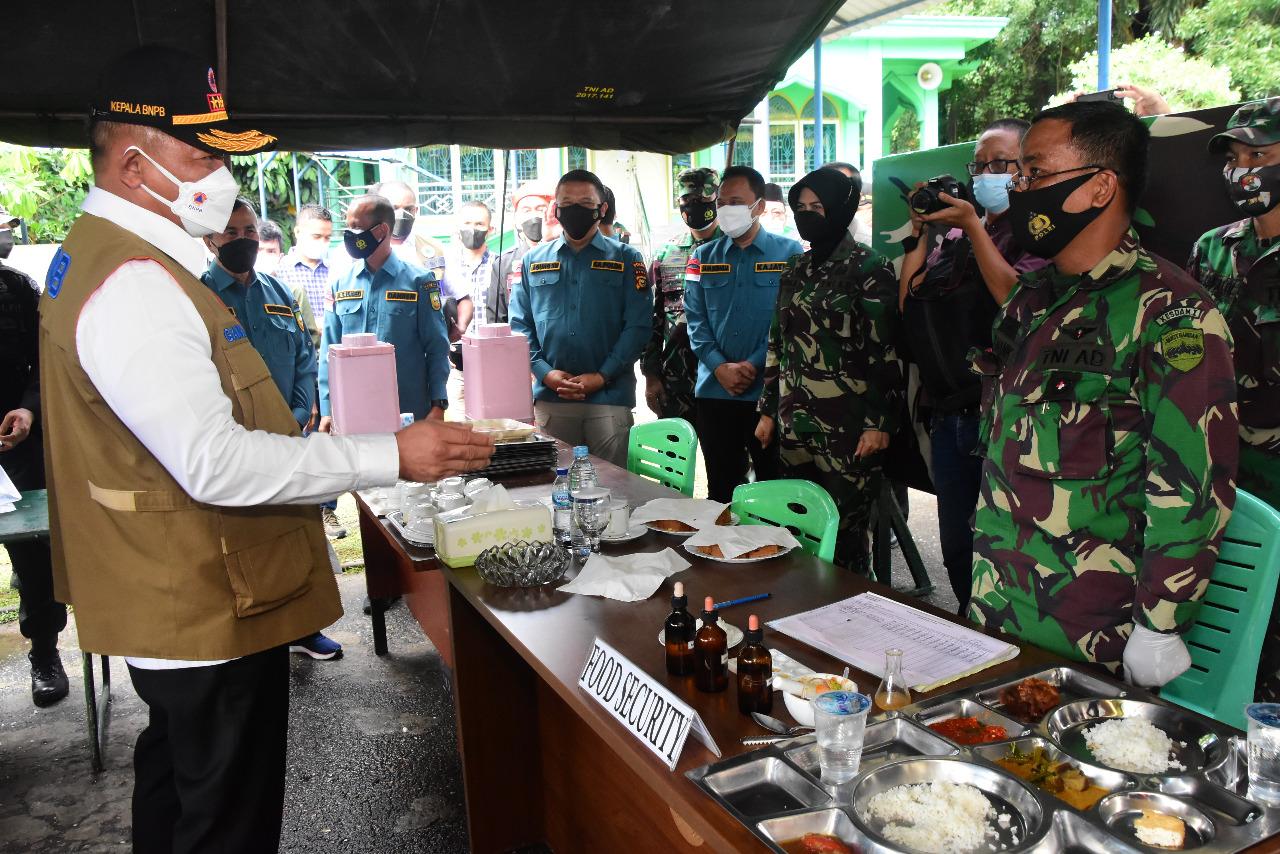 Kepala BNPB Apresiasi Inisiasi Korem 031/WB Dirikan Dapur Umum