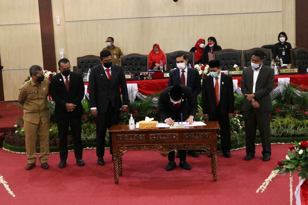 Pemko dan DPRD Medan Sepakati Perubahan KUA dan PPAS Perubahan APBD 2021