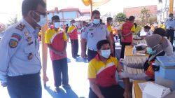 243 Warga Binaan Lapas Narkotika Kelas IIA Pematangsiantar Ikuti Vaksinasi Dosis Dua