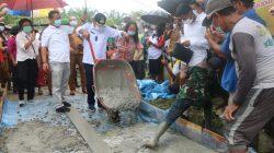 Habiskan Hampir 5 Miliyar, Bupati Simalungun Ajak Warga Bangun Kampung Halaman