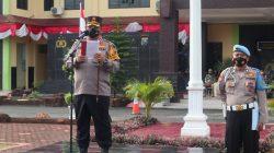 Kapolres Batubara Pimpin Apel OPS Patuh Toba 2021