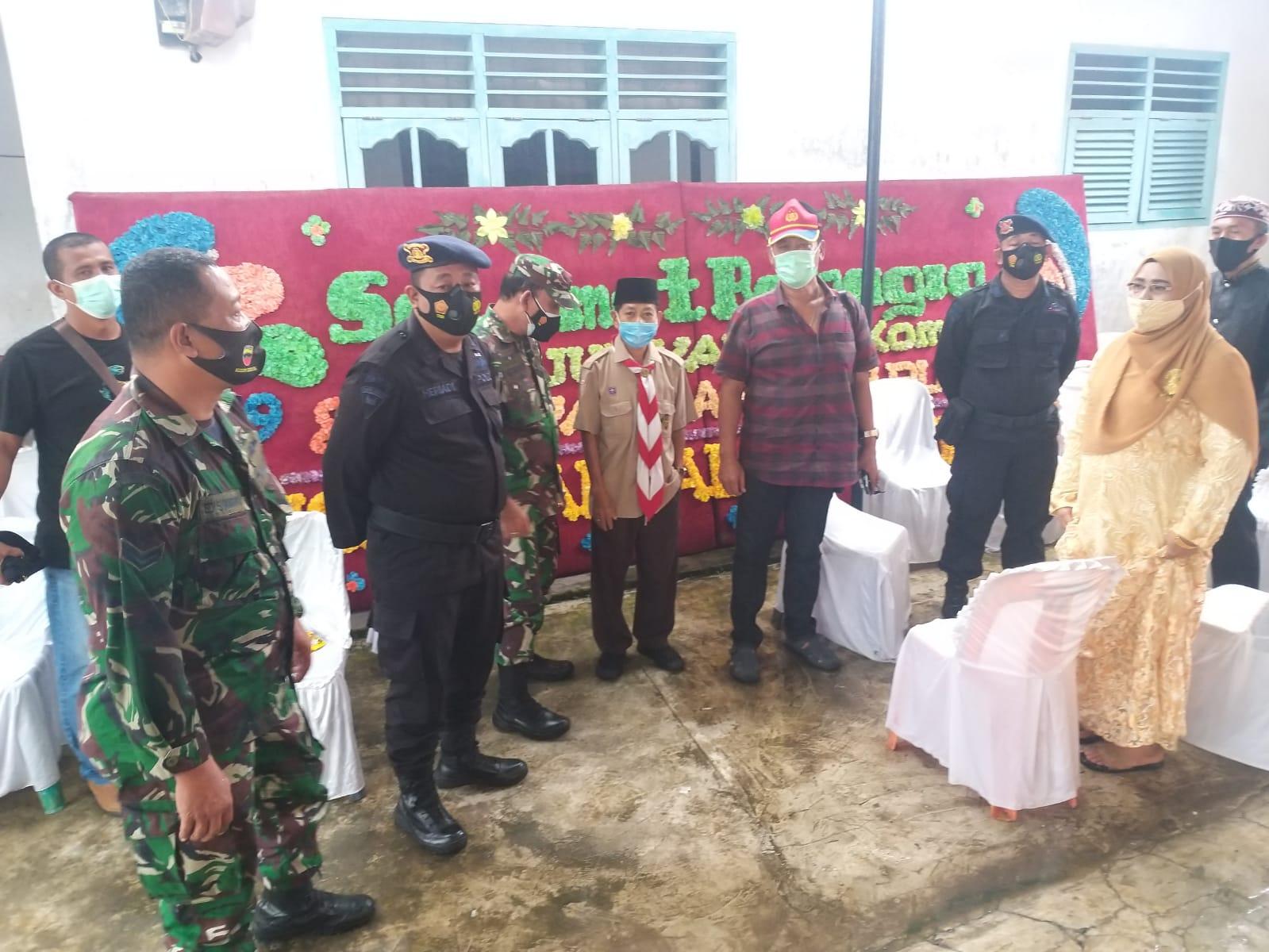 Langgar PPKM, Polsek Patumbak & Satgas Covid-19 Bubarkan Pesta Pernikahan