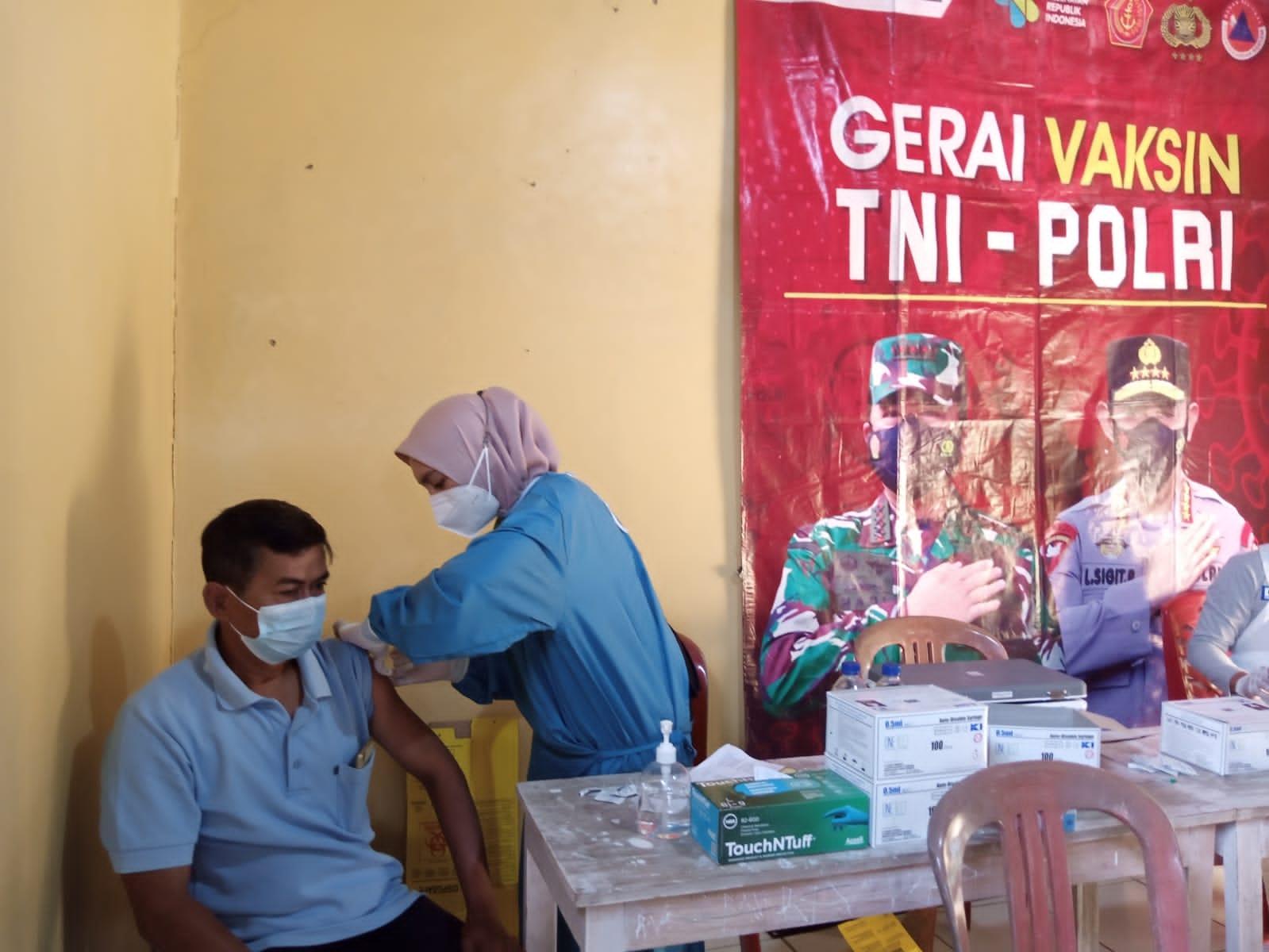 Sidokes Polres Cilegon Gelar Vaksinasi di Tiga Lokasi