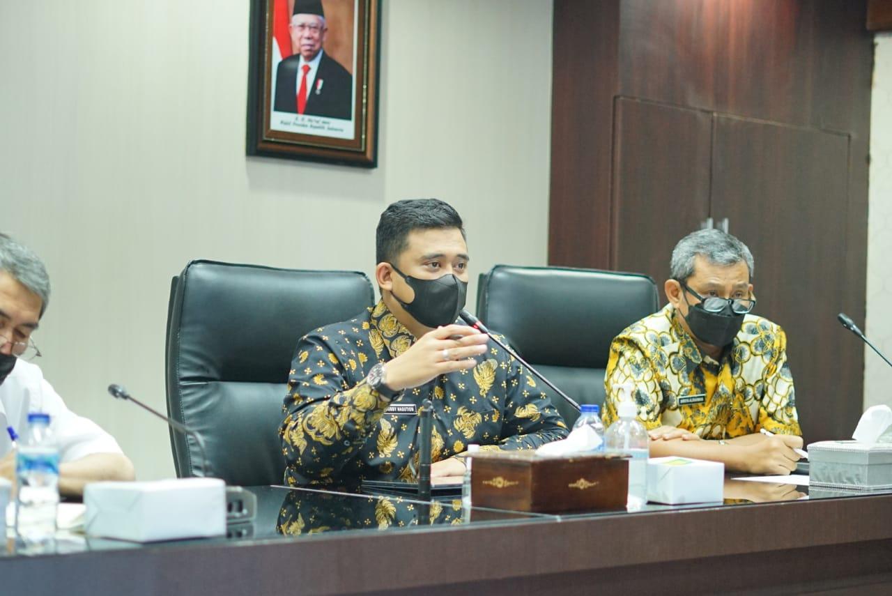 Bobby Nasution Minta agar Normalisasi Sungai di Medan Segera Dimulai