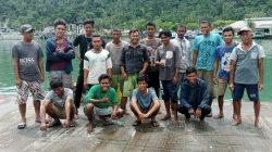 16 ABK Batahan Ditangkap DKP Sumbar di Teluk Ilalang