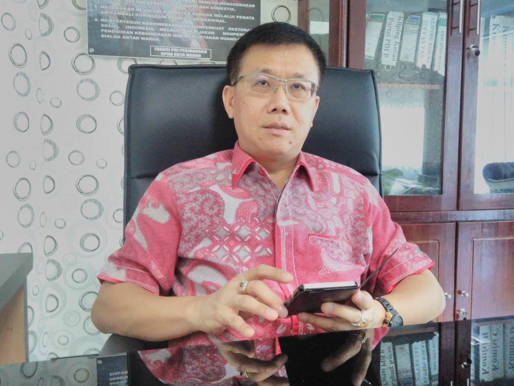 Ketua DPRD Medan : Sebelum PTM Dimulai, Pastikan Vaksin Guru dan Murid Capai Target 80 %