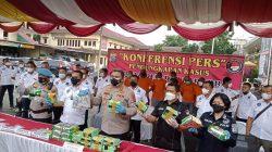 Polrestabes Medan Ungkap Kasus Penyelundupan 23 Kg Sabu
