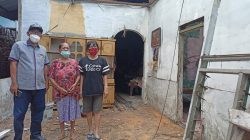 Program Bedah Rumah Terealisasi, Antonius Tumanggor Ucapkan Terimakasih Kepada Pemko Medan